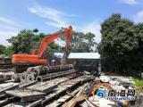海口秀英区一天拆除违建40余宗 面积49749平方米