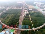 半径300米!济南首条环形高架铁路建成开通