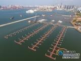 海口国家帆船帆板基地码头加速建设 将建610个泊位