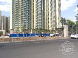 长春南四环路首座过街天桥开建 预计今年9月末建成