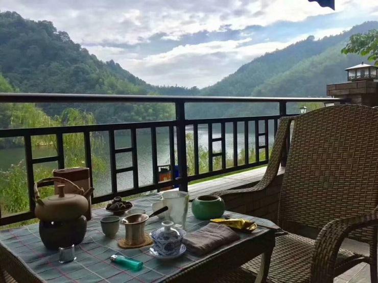 岛湖赤水天贵州,小视朋友胜地圈频避暑图片
