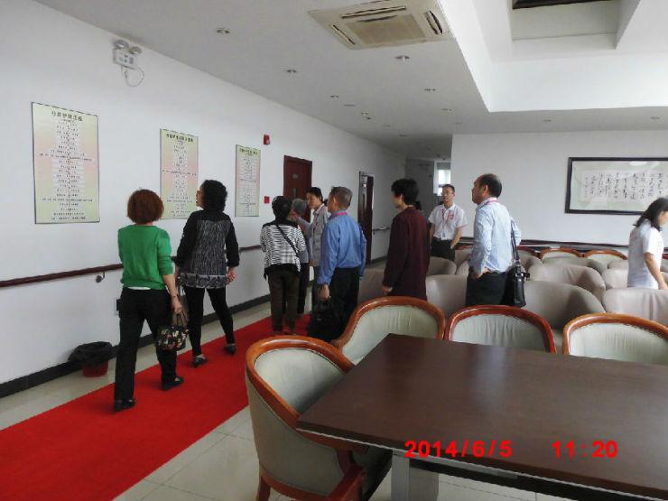 上海养老院招聘�y�k_6月5日大爱城上海总部110人来青浦侨佳养老院体验!
