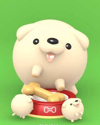图片:儿童节,发胖乎乎圆滚滚滴小动物