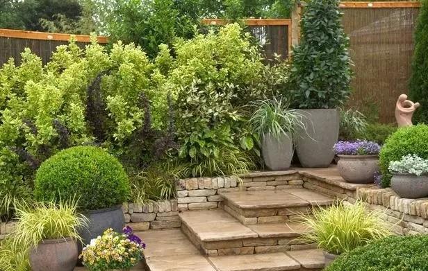 家庭园艺|花园,庭院自然风小院设计指南