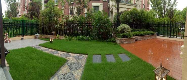 庭院花池设计效果图