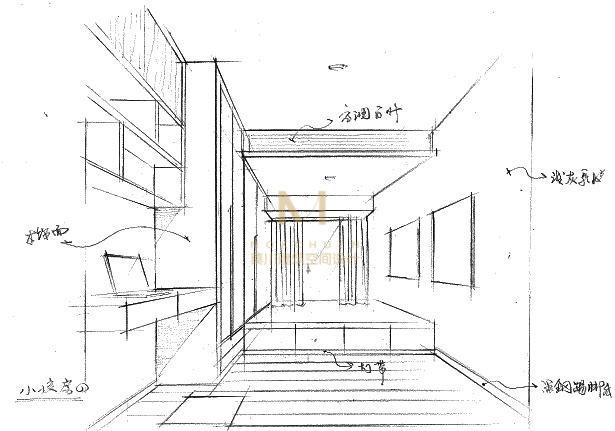工程图 简笔画 平面图 手绘 线稿 615_431