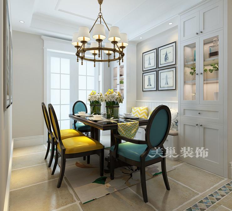 美巢康桥林语镇三室装修样板房 欧式风格设计论起清新