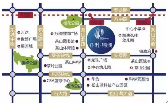 少儿广州手绘地图