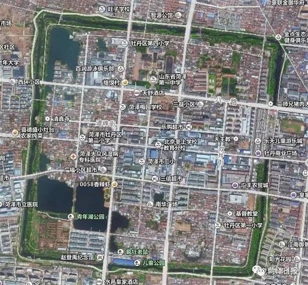 菏泽将重现古城区风貌:老城区这样规划!图片