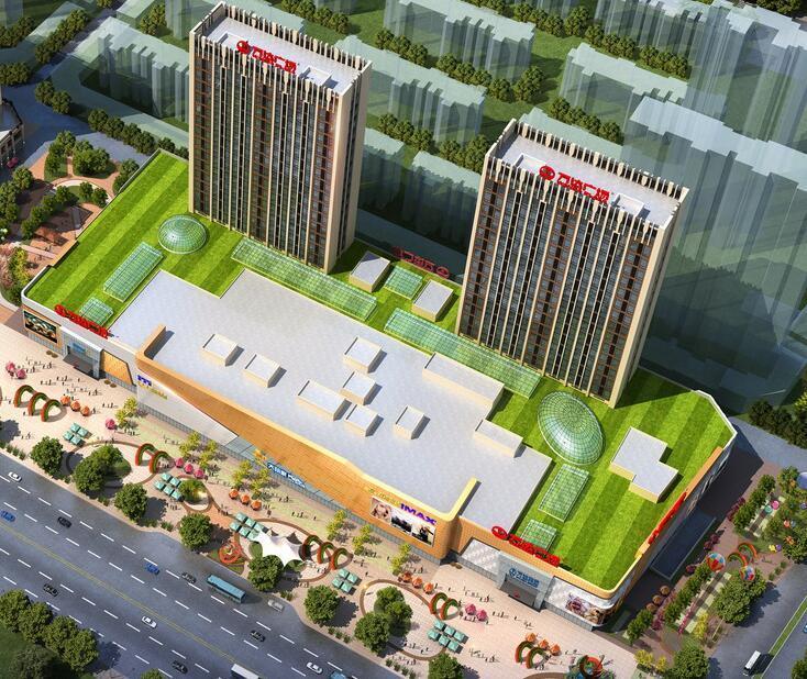 淮安新城市广场二期(楚州万达广场)方案批前公示