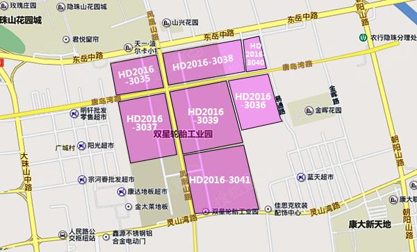 其中,hd2016-3036地块位于黄岛区规划唐岛湾路南,规划易通路西,地块