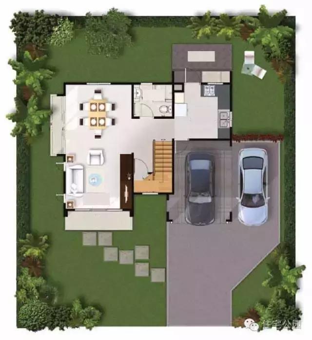 农村10x9米自建房,15万建成 含图纸