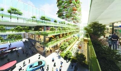 """""""垂直森林""""大楼落户江北新区 预计明年建成"""