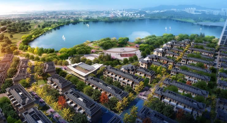 匠造人文大宅——绿地·公园城,以公园大境革新居住理念,成为鹤山城市