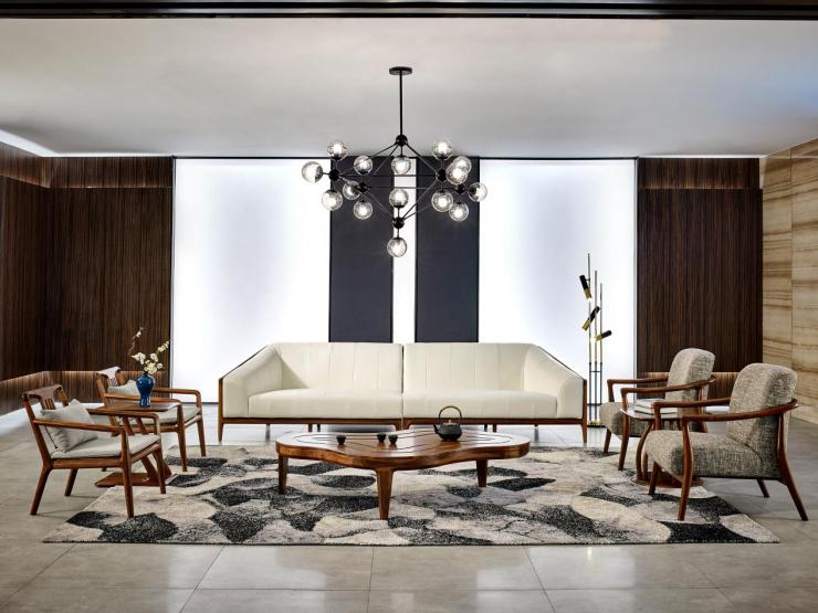 恒久智造家具进入4.0:恒久家居定制大家居新郑州新中式私人图片