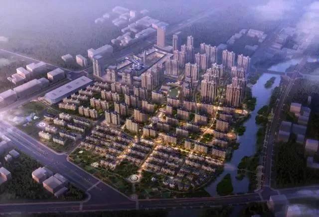 180 萬平方米,規劃有高層,小高層,洋房,別墅四大居住業態,定位為衡水