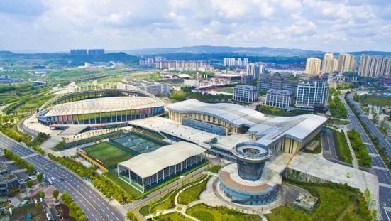 涪陵新城区开启微型城市体新城高铁别墅铸就城市a城市字时代泰月光中剧图片