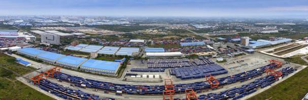 成都建院青白江校区_成都青白江欧洲产业城,蓉欧智能制造产业园正在如火如荼建设中.