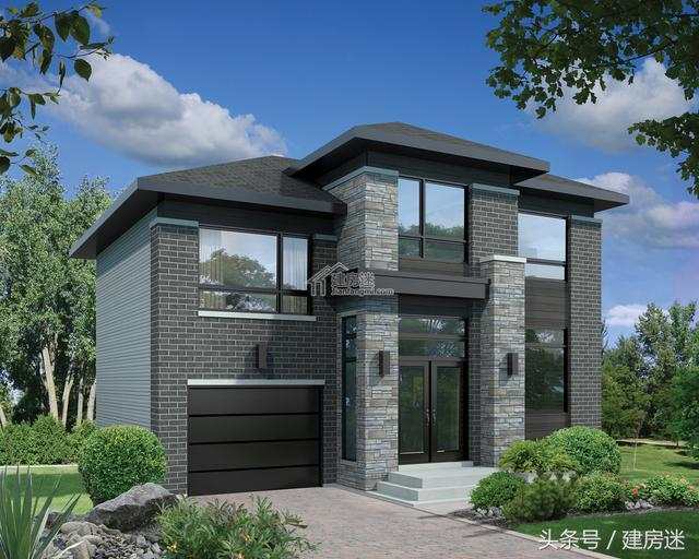 基地太小别怕,4套自建房房屋10米X10米两层别墅设计图汽车设计图3366小游戏图片