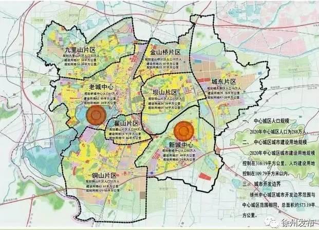 2018年,徐州新城区规划曝光,有房的笑了!