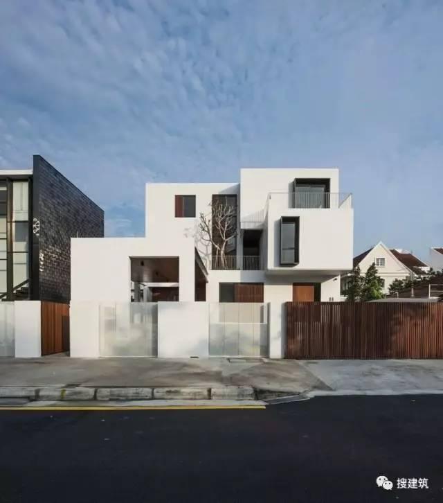 现代的简约房子,家里可以盖一栋!