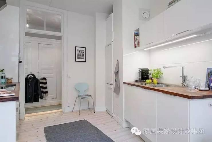 两室一厅欧式风格-70平米小户型装修效果图
