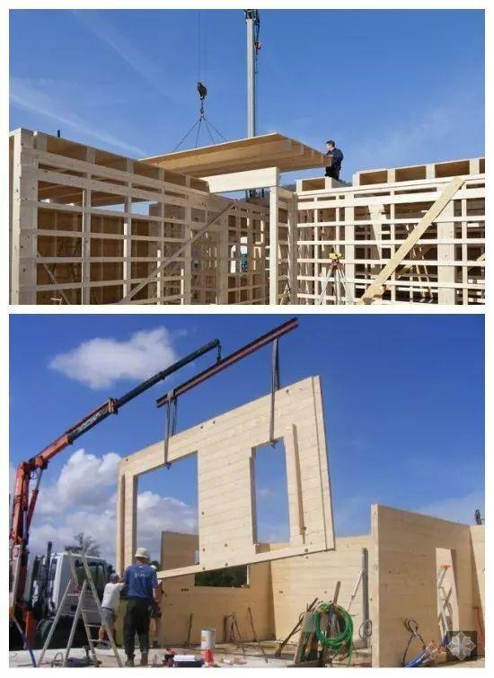 装配式木结构建筑,装配式混凝土建筑,装配式轻钢结构建筑和装配式复合