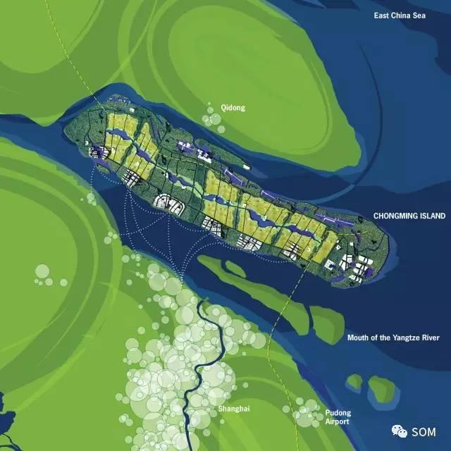 发布之际,我们邀你回顾 som 城市设计实践团队为崇明岛所作的总体规划