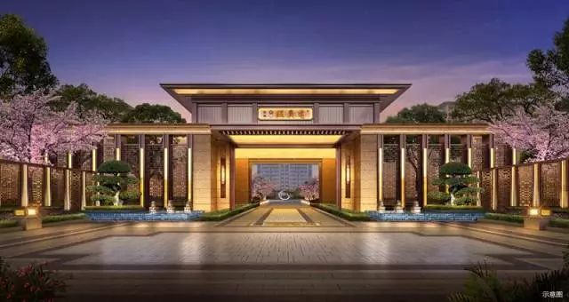 新亚洲风格建筑_风华大境|国宾府邸 新亚洲建筑风格的美学之道