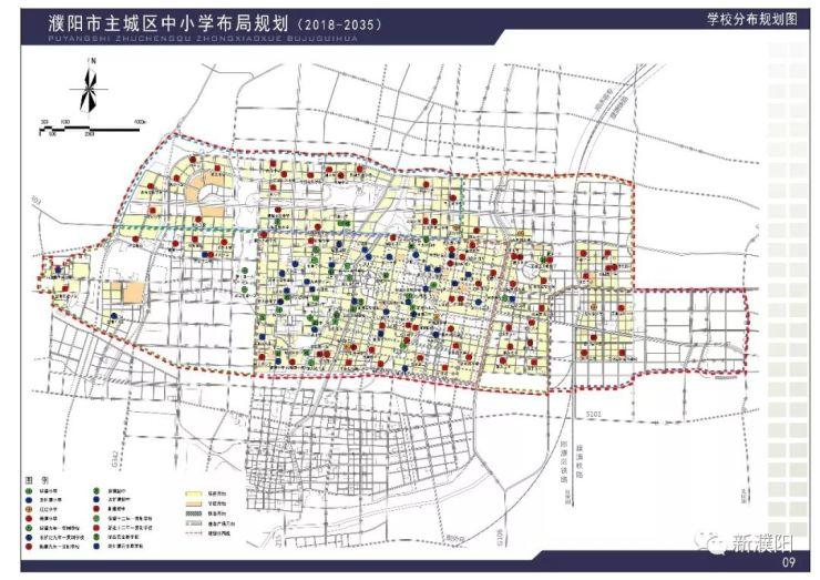 濮阳市区地图交通图