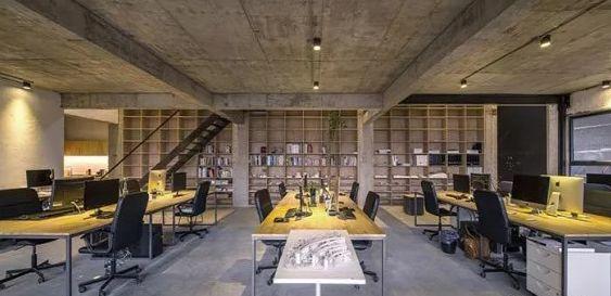 loft风格办公室装修设计案例