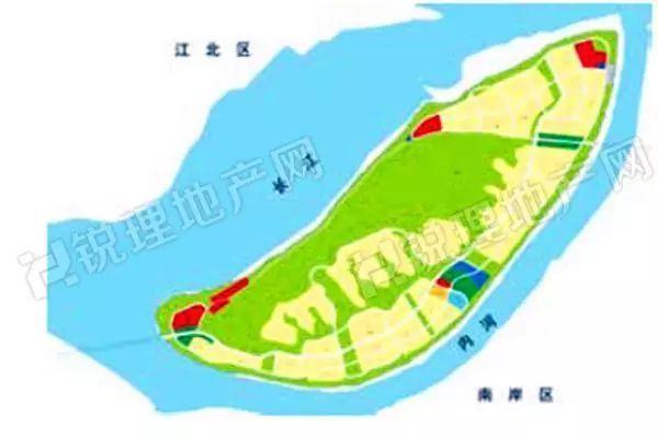 原计划出让的广阳岛15块总价达到135亿的土地,招拍挂推迟了.