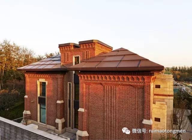 北京别墅文化研究中心地产|九章别墅铜门作品豪宅城南京佛西路图片