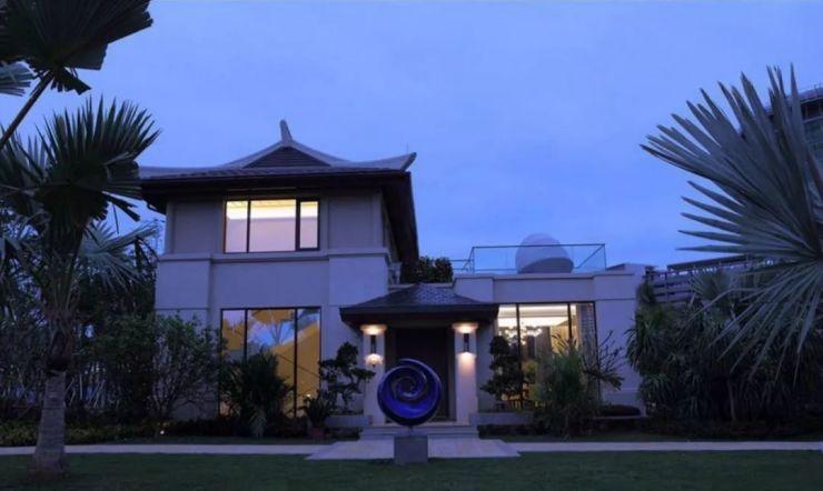 仁恒海棠湾,三亚唯一的一线海景纯独栋别墅区,仅有198套独栋别墅