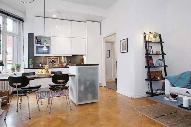 40平米小房子,清新北欧小公寓