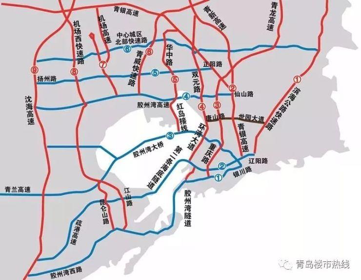 三纵三横:红岛交通大规划出炉!