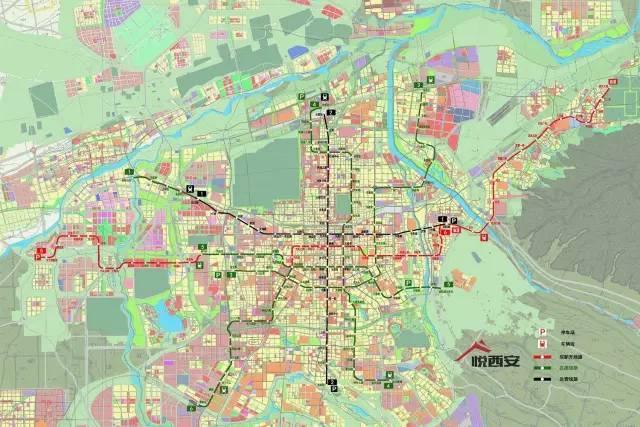 西安最新地图高清版_西安地图全图