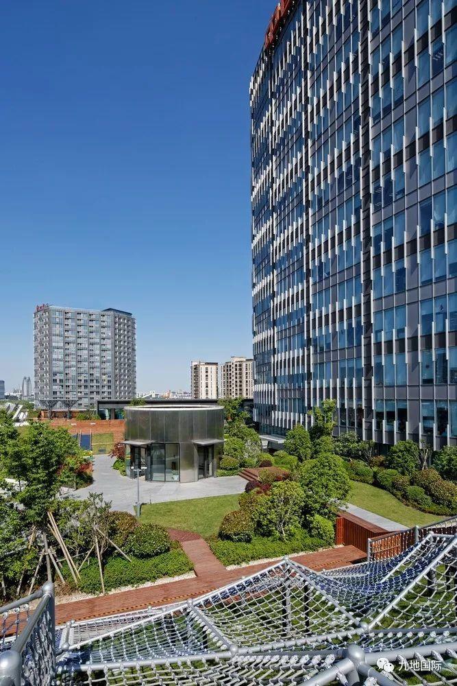 新锐v新锐|上海城市中心绿地综合体规划设计景观设计初步理念图片