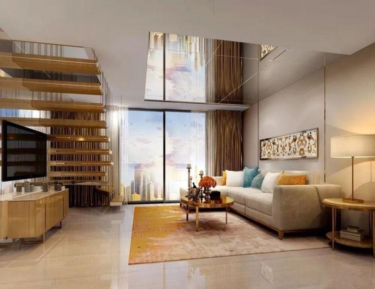 公寓loft设计,约4.5米层高图片