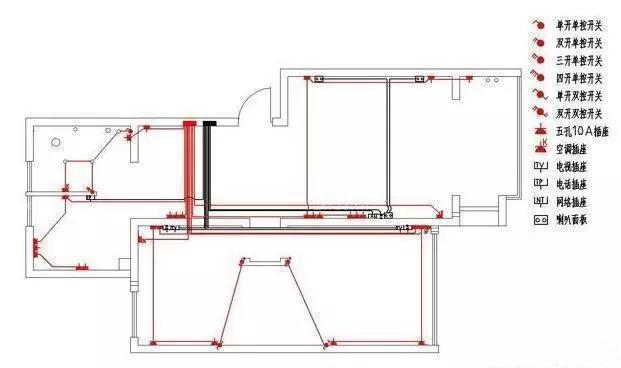 下面我们通过一些家装水电图纸来详细了解一些水电装修中的重要事项.