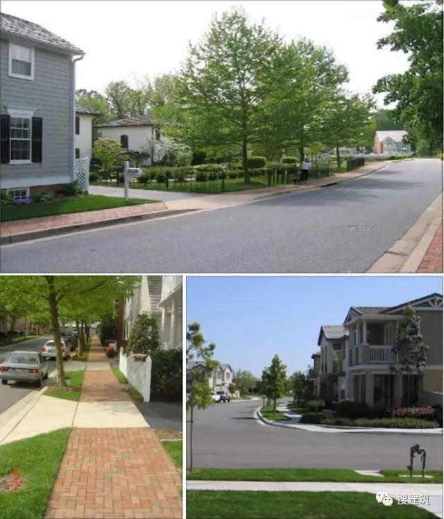 万科住宅内的道路设计,标准和施工做法,都是经验呀!