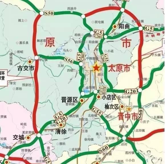 榆次经济技术开发区地图