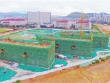 """珠峰实验学校主体结构迎来封顶 """"学校的建筑质量就是生命线"""""""