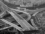 长春东部快速路:南四环路主线桥梁通车直跨生态广场