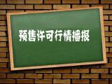 9月14日 长春共8家楼盘1082套住宅获得预售