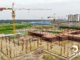 荆州纪南文旅区首所九年制学校建设现场曝光