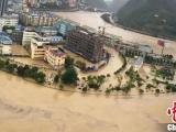 四川广元5万余人受洪灾 直接经济损失3亿多元