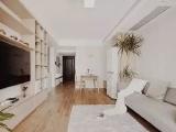 85㎡原木风日式装修,小三房还有衣帽间、浴缸和吧台!