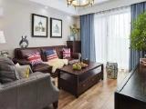 120平温暖小资美式风复式公寓