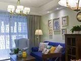 88平美式新家,11万打造的迷你小三居,超喜欢阳台的墙砖!